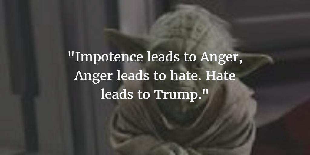Yoda über Trump