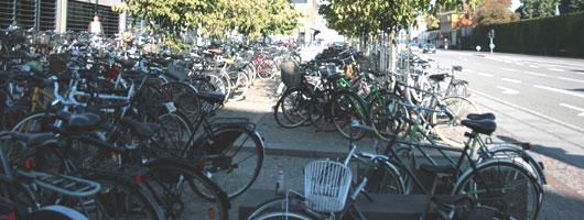 Räder in Kopenhagen