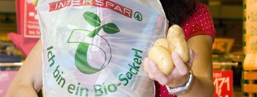 SPAR Bio-Plastik-Sackerl - Foto: SPAR